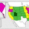 【アメリカ】トップとワーストの差は時速56km? 州別で高速道路の制限速度を比べてみた