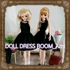 2017/4/28 DOLL DRESS ROOM_Ami のお洋服 メルカリに出品いたしました☆