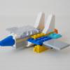 レゴ:戦闘機の作り方 LEGOクラシック10698だけで作ったよ (オリジナル説明書)