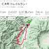 大江の七曲り山道トレラン25km