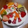 【綾部】ドキンちゃんのケーキでムスメの誕生日をお祝いしたよ【シャトレーシラキ】