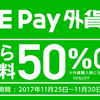 LINE Payの外貨両替キャンペーンが継続!手数料は50%OFFに