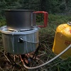 アルミポットでスタッキングは完璧!炊飯まで出来る優れものギア