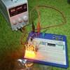 LEDウインカー増強作戦 色味と明るさ具合のチェック