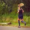 秋空にランニングでうつ・不安障害の克服を