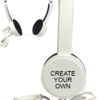 Turn up your style quotient & brand value with logo printed headphones