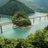 鉄道でも車でもアクセスできる絶景の奥大井湖上駅