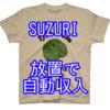 SUZURIで放置していたら売れていた釣りTシャツ利益はどのくらい?
