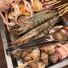 大洗のとれたて新鮮魚介大集合。見るだけでも楽しい海の宝石箱!【カキ小屋(茨城・大洗)】