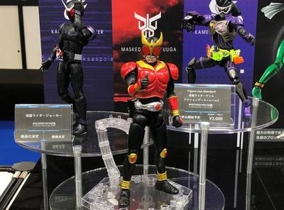 全日本模型ホビーショー 仮面ライダー プラモデルブースレポート