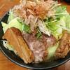 横浜西口の横浜屋のがっつりラーメンは野菜たくさん