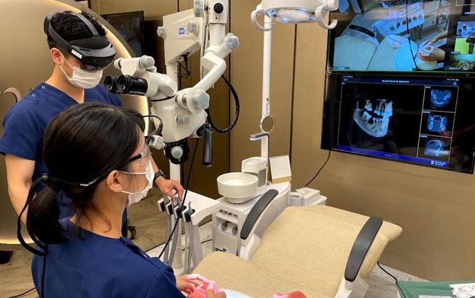 歯科医の技術格差解消へ。5G・XR・3Dプリンティング模型を活用した遠隔手術サポートの実証実験