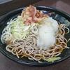 7月20日(金)川崎での取材と、駅ホームにある濱そばで食べた冷やしおろしそば。