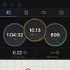 ランニングログ 10/23 台風一過でやっと晴れ!!気温急低下の中、10kmビルドアップ!!