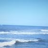 週末ライフ。「冷え込みが一段落してウネリが戻った海で午前のいっぱいファンサーフィン」の巻。