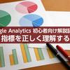 【Google Analytics初心者向け解説】セッション、平均ページ滞在時間、直帰率などの指標を正しく理解する