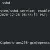【Linux】【Teraterm】WindowsPCからCentOS8へSSHでリモートログイン