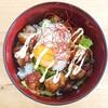 【唐揚げ丼】からあげ+温玉で絶品からたま丼【レシピ】