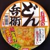 日清 どん兵衛 鬼かき揚げ天ぷらうどん 116−6円