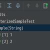 JUnit5のParameterized Testを試してみる