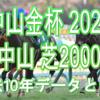 【中山金杯 2021】過去10年データと予想