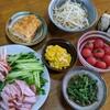 今日のゴーシ飯-冷麺-