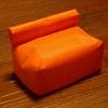 折り紙のソファーとベッド