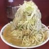 ラーメン二郎 ひばりヶ丘駅前店『大ラーメン豚入り(「麺無双」使用麺)』