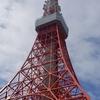 hatenaより『曇り空と東京タワー』です🗼☁