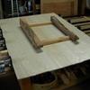 矧ぎ合わせて大きな板作ります。