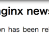 nginx mainline 1.15.1 release!!