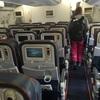 アエロフロートの機内食、座席などなど。からのロストバゲッジ