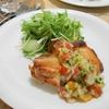 簡単!!カリカリチキンの夏野菜マリネソース添えの作り方/レシピ