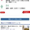 岡山県新型コロナウイルス現在の状況です!