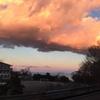 雲がデカイ。