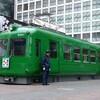 渋谷駅前に5000系(東急旧型)