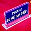 Làm biển chức danh bằng mica đẹp tại Nghệ An