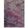 着物生地(350)雲取に草花模様上代紬