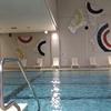 琵琶湖マリオットのスイミングプールは温泉利用もできて終日遊べるよ!