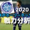 【水戸ホーリーホック】2020移籍・スタメン・戦力分析(2/26時点)