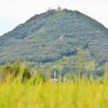 秋、三木町の白山と田んぼ