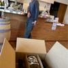 Aperture Farmのワインを回収。