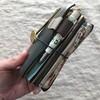 トラベラーズノートをお財布に。