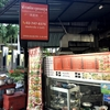 ウドムスック駅真下のタイ料理店「カオトムウドムスック(Udomsuk Boiled Rice)」でお持ち帰り