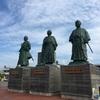 高知駅前にある銅像が台風で撤去???