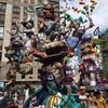 スペイン*2018*バレンシア~サン・ホセの火祭り④ファリャス作品群~今年の人気はトランプ大統領と金正恩!風刺の効いた張り子人形~