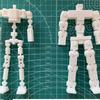 ロボットの骨格を作る その4