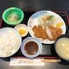 🚩外食日記(558)    宮崎ランチ   「ささがわ」②より、【とんかつ定食】‼️