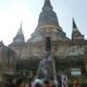 タイ・バンコク:クルーズでアユタヤ観光③ワット・ヤイ・チャイ・モンコン