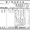 株式会社インテージ 第5期決算公告